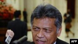 Tổng thư ký ASEAN Surin Pitsuwan.