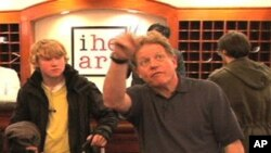 Comedian Jimmy Tingle likes to make people laugh no matter where he is.