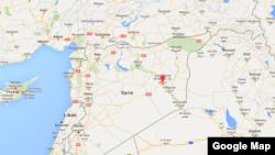 La ville de Deir Ezzor en Syrie.