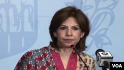 Jury bicara Kementerian Luar Negeri Pakistan, Tasnim Aslam (Foto: dok).