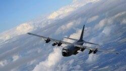 """美國軍機再次現身台灣為美國在台協會運送""""外交郵袋"""""""