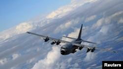 资料照:C-130 大力神运输机