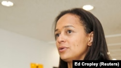 Isabel dos Santos, fille du président angolais José Eduardo dos Santos et propriétaire du fournisseur de télévision par satellite angolais ZAP, à Luanda, Angola, 9 juin 2016.