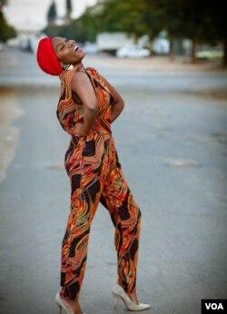 Fashion designer Ntombiyethu Malunga