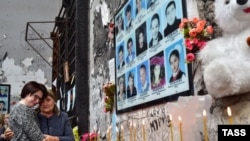День памяти жертв террористического акта в спортивном зале школы №1 в Беслане, 2016 год