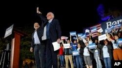 Berni Sanders na mitingu u Las Vegasu, 21. februara 2020.