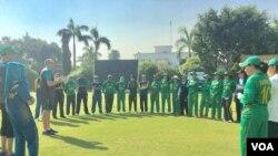 نیوزی لینڈ کے خلاف سیریز کیلئے پاکستانی خواتین کی کرکٹ ٹیم کا اعلان کر دیا گیا ہے۔ فائل فوٹو