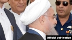 Le président Hassan Rohani, 25 mars 2016.