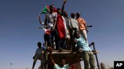 Sudán, es el país con los más bajos índices de prosperidad en el mundo.Venezuela y Haití son los más bajos en Latinoamérica, en los puestos 147 y 153 respectivamente. Foto AP, Nov. 19 de 2019.