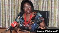 Angola, Fátima Viegas, directora do Gabinete para a Cidadania e Sociedade Civil do MPLA. Foto Angop