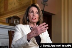 Ketua DPR AS, Nancy Pelosi (Foto: dok)