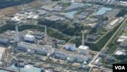 ໂຮງໄຟຟ້າພະລັງງານນິວເຄລຍ Fukushima ບ່ອນທີ່ມີການຮົ່ວໄຫລ ຂອງນໍ້າທີ່ປົນ ກໍາມັນຕະພາບລັງສີນິວເຄລຍ ລົງສູ່ທະເລ.