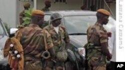 Des soldats bissau-guinéens