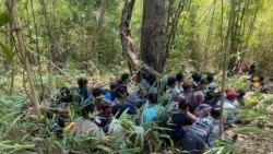 လူကုန္ကူးခံရသူ ျမန္မာ ၆၀ ခန္႔ ထုိင္းနယ္စပ္မွာ ဖမ္းဆီးခံရ