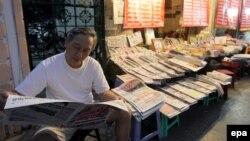 Sạp bán báo trên đường phố Hà Nội. Việt Nam tiếp tục nằm gần cuối bảng Tự do Báo chí Thế giới, ở hạng 175 như năm ngoái trên tổng số 180 quốc gia được khảo sát.
