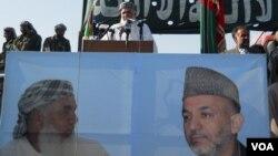 Ismael Khan and Karzai Poster