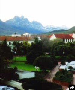 Stellenbosch University is situated in the middle of some of South Africa's most breathtaking scenery