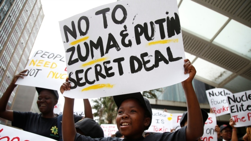 South African Court Declares Nuclear Plan with Russia Unlawful
