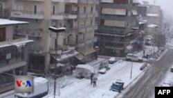 Moti i ftohtë me borë përfshin Shqipërinë jugore