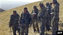 Группa кыргызского спецназа