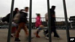 Migranti na granici Austrije i Slovenije