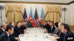 Ağ Ev Obama və Əliyevin görüşü barədə açıqlama yayıb