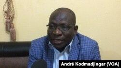 Maître Bongoro Théophile président du parti pour le rassemblement et l'équité au Tchad, novembre 2019. (VOA/André Kodmadjingar).