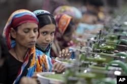 孟加拉国服装业工人