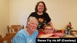 Grandparents manage online learning of grandchildren