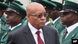 Jacob Zuma, président sud-africain