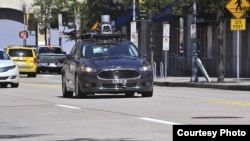 Uber, saingan Lyft, telah mencoba kendaraan tanpa sopir di kota Pittsburgh, AS (foto: ilustrasi).
