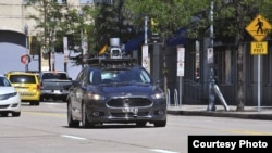 FILE - Uber's self-driving cars hit a snag in San Francisco. (Uber)