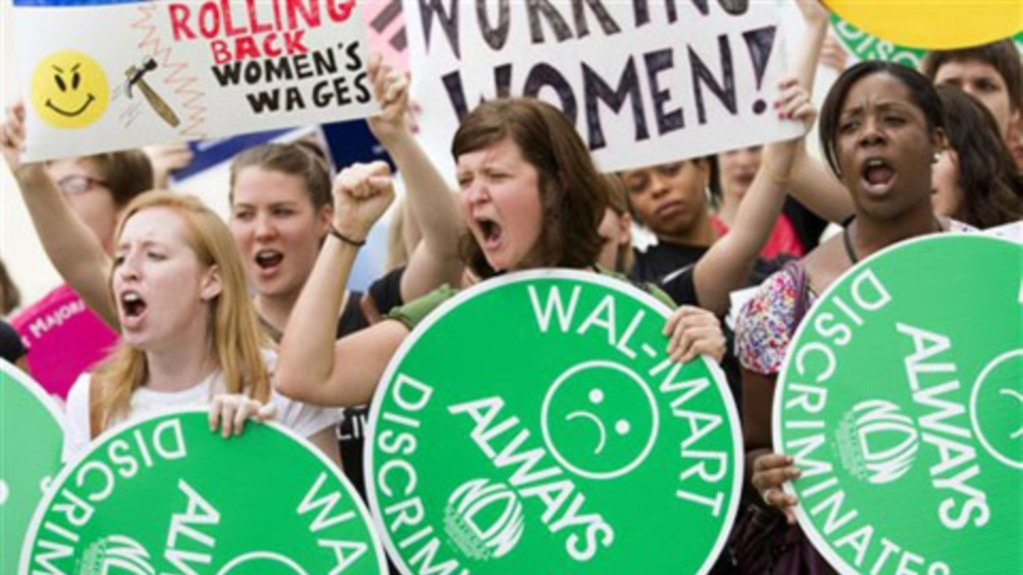 Wal mart sex discrimination lawsuit