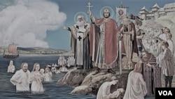 კიევის რუსის გაქრისტიანება, 988 წელი