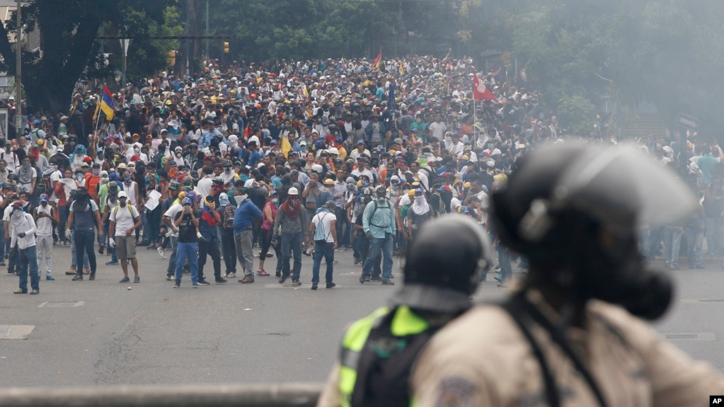 Image result for Demonstration in  Venezuela Apr 2017