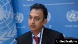 Javaid Rehman, U.N. special rapporteur on human rights in Iran. (File)