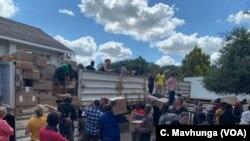 Fırtınadan etkilenen bölgelere yardımlar ulaştırılmaya çalışılıyor