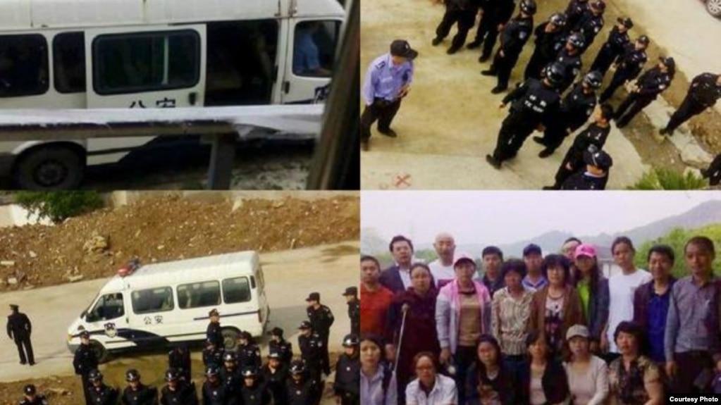 蘇州警方抓捕大批前往祭奠林昭的公民(網絡圖片)