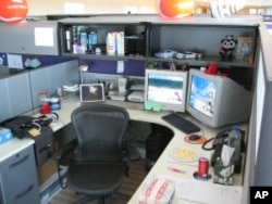 People who toil in cubicles often try to personalize their limited space as much as humanly possible.