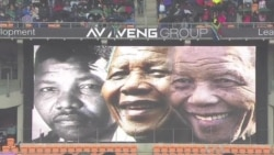 Outpouring of Emotion at Memorial for South Africa's Mandela