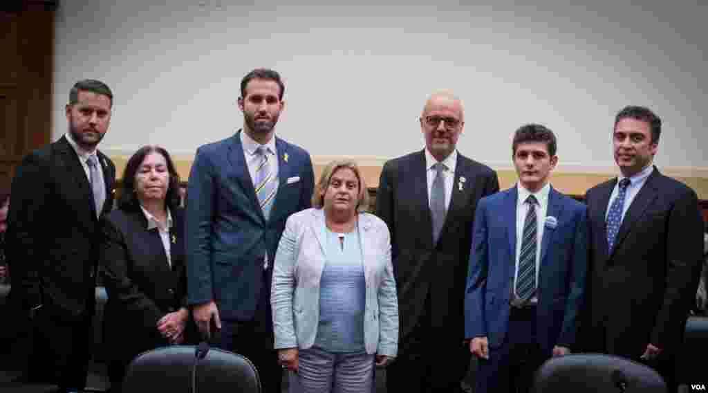 پشت صحنه شهادت خانواده آمریکایی های زندانی در ایران در کنگره آمریکا