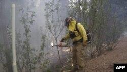 Пожары в штате Аризона
