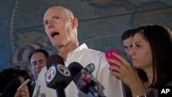 El gobernador Rick Scott dijo que los fondos públicos del estado no deben servir de beneficio a gobiernos como los de Cuba y Siria.