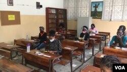 Formação para mulheres, Centro Renascer, Benguela