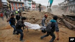 Katmandu, 25-aprel, 2015