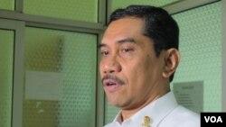Kepala Badan Nasional Penanggulangan Terorisme (BNPT), Komisaris Jenderal Suhardi Alius. (VOA/ Fathiyah Wardah)