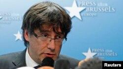 Карлес Пучдемон кілька днів перебуває у Брюсселі