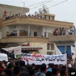4月29日叙利亚爆发大规模抗议活动