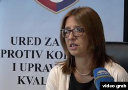 Danka Polovina-Mandić, šefica Ureda komisije za odlučivanje o sukobu interesa