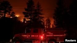 Požari u Californiji, 31. august 2021.